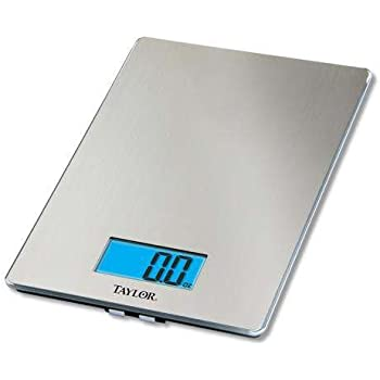Amazon Com 3844 9 Stainless Steel Digital Kitchen Scale