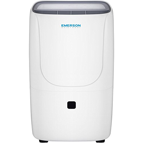 Emerson Quiet Kool EAD70EP1 70-Pint Dehumidifier with Internal Pump, Built, White
