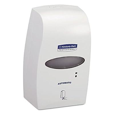 "Kimberly Clark Professional Electronic Touchless Cassette Skin Care Dispenser (92147), 7.25"" x 11.5"" x 4.0"", 1.2 Liter, White, 1 / Case"