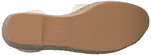 Sandal Wedge Off Lesly Women's Espadrille Leather Vita Dolce White wqaFHH