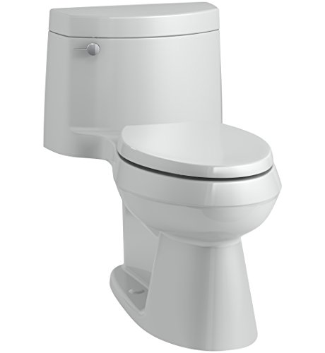 KOHLER K-3619-95 Cimarron Comfort Height One-Piece Elongated 1.28 GPF Toilet with AquaPiston Flush Technology