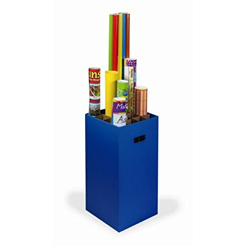 Classroom Keepers Poster And Roll Storage, Blue (001335)