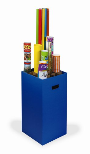Pacon Classroom Keepers Poster and Roll Storage, Blue (001335)