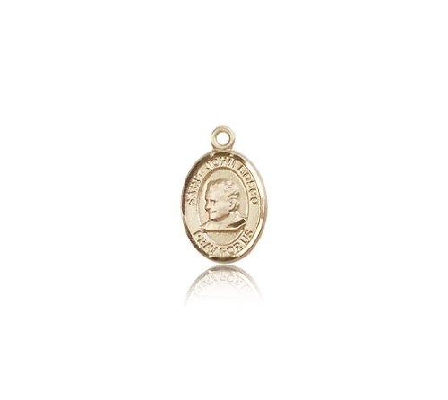 14K Gold St. John Bosco Medal
