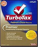 Software : TurboTax 2009 Premier Federal + State + Federal efile
