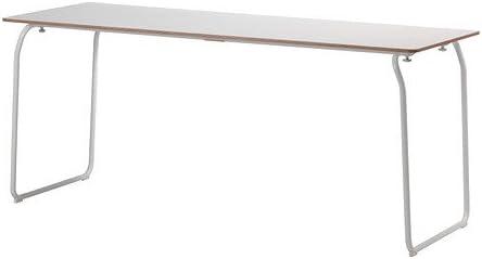 Ikea 1626.172914.3430 - Mesa plegable para interior y exterior, color blanco: Amazon.es: Juguetes y juegos