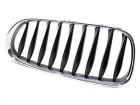 (BMW e85 e86 Kidney Grille LEFT Front grill OEM radiator nose grill vent e86)