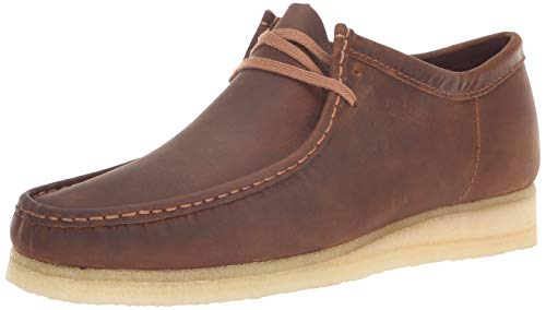 CLARKS Men's Wallabee Moccasin Beeswax 130 M US ()