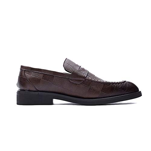 Tamaño Y Marrón City Formales De Solo Eu Marrón Oxford Los 41 Casual Mixto Shoes Un Prácticos Cómodos Mocasines En Hombres color Con Ofgcfbvxd Resbalón Adulto Pie Zapatos q0BpvHwx0g