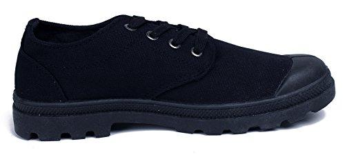 Scarpe Basse Uomo Stringate Top Allacciare AgeeMi Low Shoes Sneaker EuN10 Nero qwHE6nCxBn