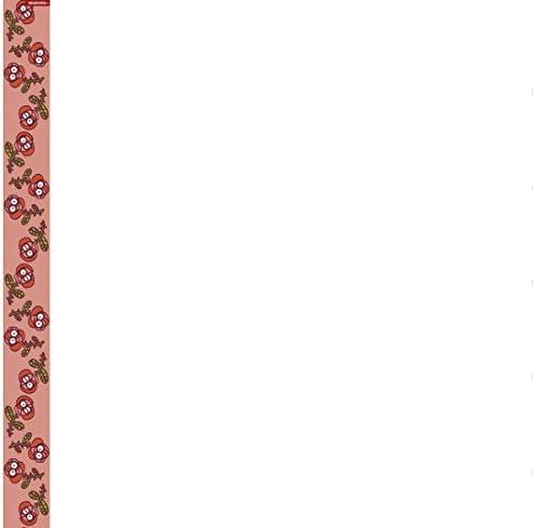 Kukuxumusu Drap Plat 160x270 Roses 2 T/A Rouge