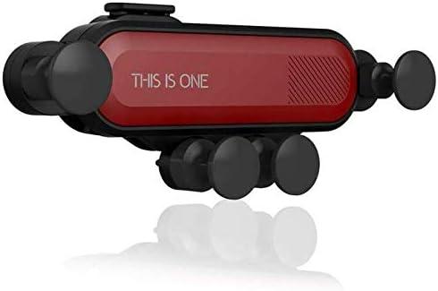 Zregovic - Soporte Universal para Smartphone de Coche, 360 Grados de rotación, Accesorios para el Interior del Coche, Soporte para teléfono móvil, iPhone, Samsung, Huawei y Dispositivos (Rojo): Amazon.es: Electrónica