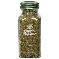Simply Organic Oregano Leaf Cut & Sifted ORGANIC 0.75 oz. Bottle - 3PC