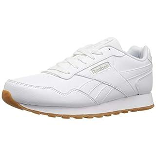 Reebok Mens Classic Harman Run Sneaker, us-white/gum, 9 M US
