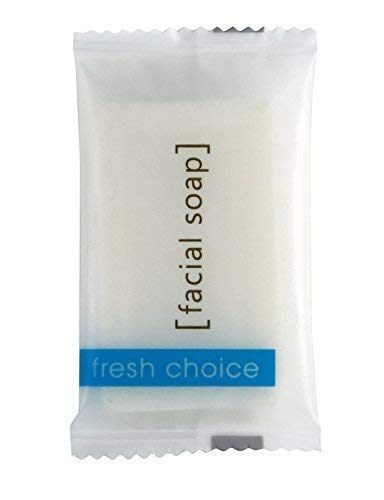 Soap Hotel Facial Bar Individually Wrapped # 3/4 Travel For Airbnb, Spa, Guest Room, Motels. 100 Pack. ()