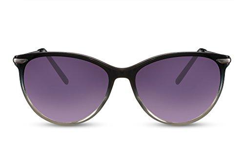 Sol Estampado de XXL 008 Grandes Damas Cheapass Gato Ojos Ca de Metálicas Gafas Mujeres Leopardo Gafas q4S0E