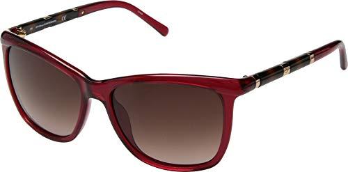 Diane von Furstenberg Women's Hannah Crystal Red One Size -