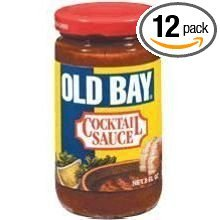 Mccormick Old Bay Cocktail Sauce - Jar, 8 Ounce -- 12 per case.