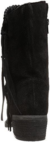 Monkey Ankle Vamp Women's Bootie Naughty Phyer Black P0nqU6cdc
