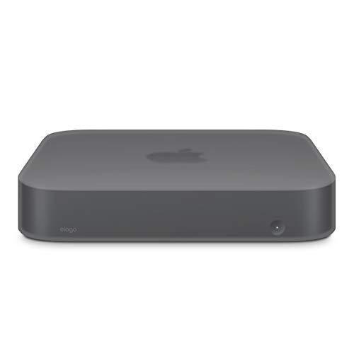 elago Mac Mini Silicone Case [Dark Gray Translucent] - [Shock-Resistant][Long-Lasting][Cutout Design] - for Mac Mini 2018