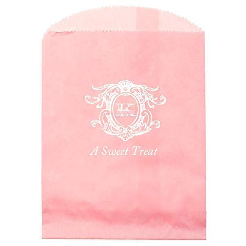 Wedding Favor Bags, Candy Buffet, Bridal Shower Bag, Personalized Favor, Tags, Party Bag, Donut 289 ()