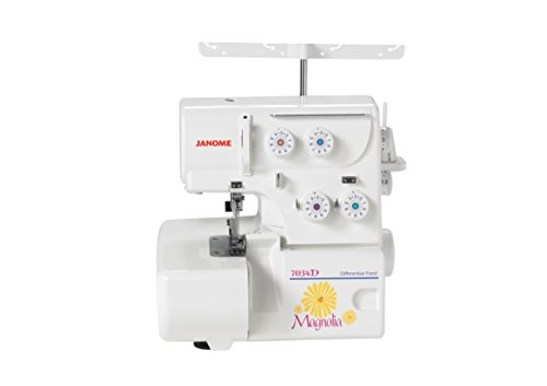 Buy Bargain Janome Magnolia 7034D 3- & 4-Thread Serger w/ Differential Feed & FREE BONUS PACKAGE!