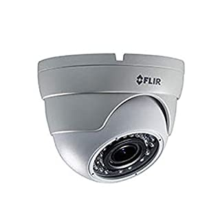 FLIR Digimerge C234EC Outdoor Weatherproof 4-in-1 Security Dome Camera, 1.3MP HD MPX WDR, 2.8-12mm, Manual Zoom, 100ft Night Vision, Works with AHD/CVI/TVI/CVBS/Lorex, Flir MPX DVR, White(Camera Only)