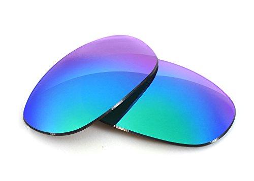 FUSE Sapphire Mirror Polarized Lenses for Oakley Monster Dog