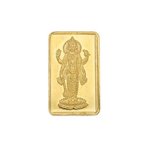 Sri Jagdamba Pearls 2 Gm, 24kt  999  Yellow Gold Coin