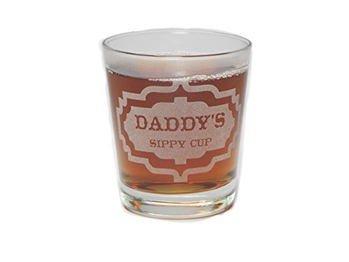 Engraved Hi-Ball Rocks Glass Daddys Sippy Cup 13 Oz Permanently Etched Fun /& Unique Gift!