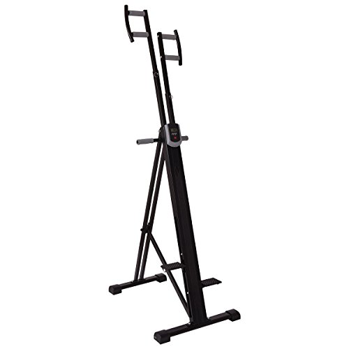 Foldable Vertical Climber Machine Exercise Stepper Cardio Workout Fitness Gym by BUY JOY