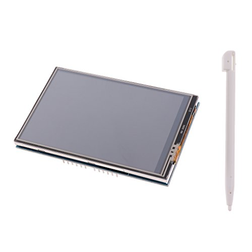 Longruner UNO R3 3.5 TFT Shield Touch Display Screen with SD Card Socket w//a Touch Pen and Tutorials in CD LSC3A-1 for Arduino MEGA 2560 Board Module
