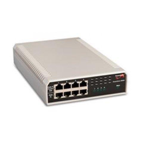 4-Port High-Power 30W Per Port, 10/100/1000 BaseT, AC Input by PowerDsine