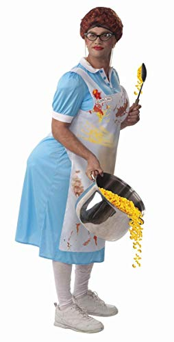 Forum Novelties Mildred The Lunch Lady Costume, Blue, One -