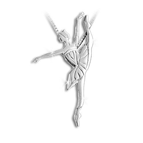 Bijoux de la danse , pendentif danseur, danse classique Developpe'