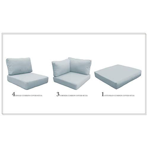 TK Classics High Back Cushion Set for CAPECOD-10b
