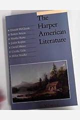 The Harper American Literature Paperback