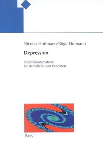 Depression. Informationsmaterial für Betroffene und Patienten