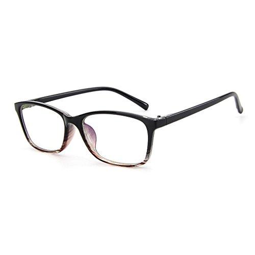 LOMOL Trendy Korean Design Student Style Transparent Lens Frame Glasses For - Korean Glasses