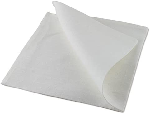 SP 4 pcs Luxus blancas de servilletas de tela 51 * 51 cm
