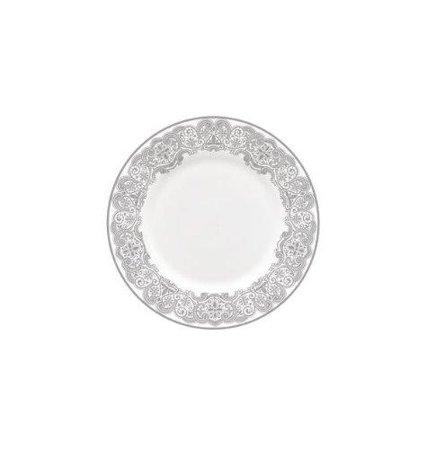 Lace Platinum Dinner - Lismore Lace Platinum Salad Plate