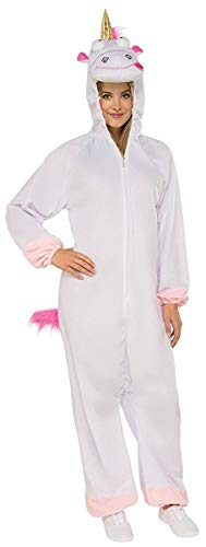 Rubie's Women's Despicable Me 3 Fluffy Onesie Costume With Hood, As/Shown, X-Large