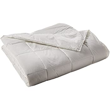 Elegant Comfort 1200 Thread Count Goose Down Alternative 100% Egyptian Cotton Comforter, Full/Queen, Solid White