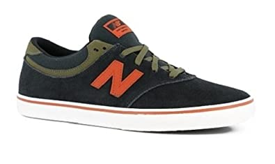0877646b9d728 Image Unavailable. Image not available for. Color: New Balance Quincy 254  Skate Shoes Black ...
