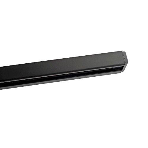 Kendal Lighting T8-BLK   Designers Choice 8-Feet 120V 20A Track, Black Finish Linear Track Rail