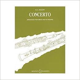 mozart oboe concerto piano reduction pdf
