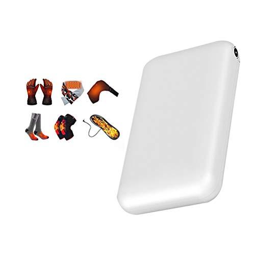 CaCaCook PowerBank, 3,7 V 4000 mAh draagbare powerbank oplader voor verwarmingssokken, sjaal, handschoenen…