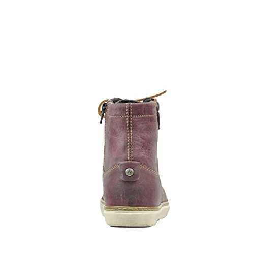 bordeaux 50510 Ontario Wolky Comfort Leder Sneakers qTtnIB