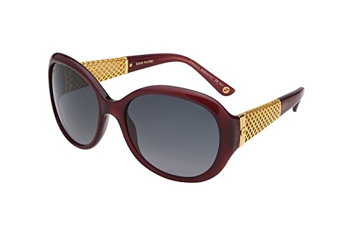 Gucci Women's GG 3693/S Red Gold/Gray - Gucci Red Shades
