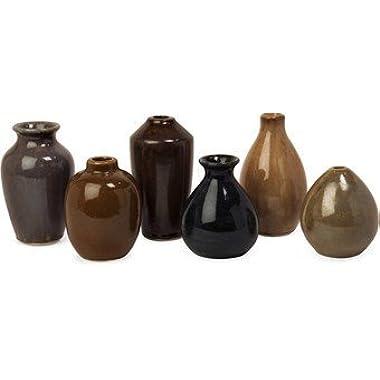 IMAX 35073-6 Mini Vases, Set of 6